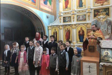 Выступление воспитанников  «Детской воскресной школы»