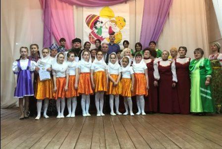 Второй открытый районный фестиваль духовной и православной песни «Пасхальный перезвон»