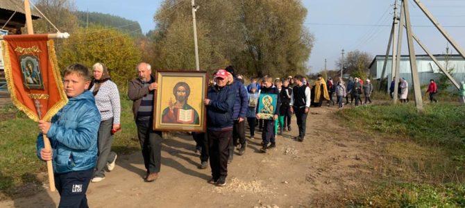 Крестный ход в селе Галаново